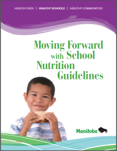 Moving Forward with School Nutrition Guidelines cover shot