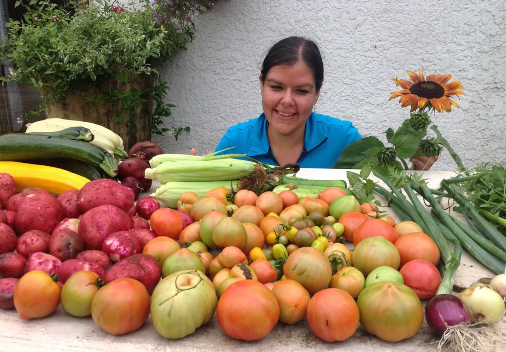 gardening; produce; Melanie Ferris